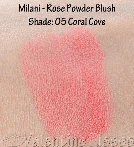 Румяна MILANI Rose Powder Blush - 05 Coral Cove