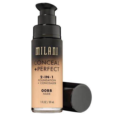 Тональный крем и корректор для лица MILANI Conceal + Perfect 2-IN-1 Foundation - 00BB Nude