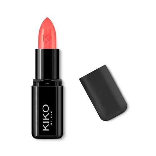 Помада для губ питательная с эффектом сияния KIKO MILANO Smart Fusion Lipstick - 410 Watermelon