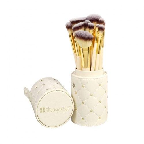 Набор кистей в тубусе BH COSMETICS Кутюр Studded Couture - 12 Piece Brush Set