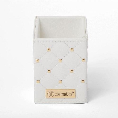Набор кистей в подставке BH COSMETICS White Studded Elegance 12-Piece Brush Set