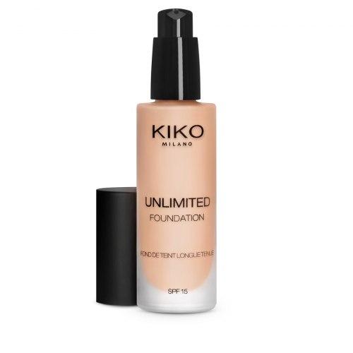 Тональная основа KIKO MILANO Unlimited Foundation SPF 15 - Neutral Gold 30 - Novita