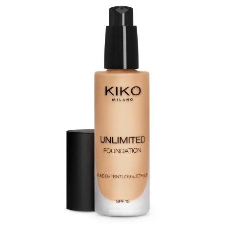 Тональная основа KIKO MILANO Unlimited Foundation SPF 15 - Warm Beige 15