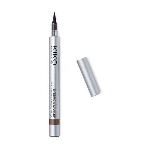 Стойкий маркер для бровей с эффектом татуажа KIKO MILANO Eyebrow Marker - 03 Brune e More