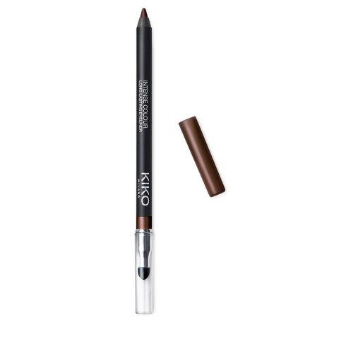 Стойкий гладкоскользящий карандаш для глаз KIKO MILANO Intense Colour Long Lasting Eyeliner - 04 Marrone Perlato