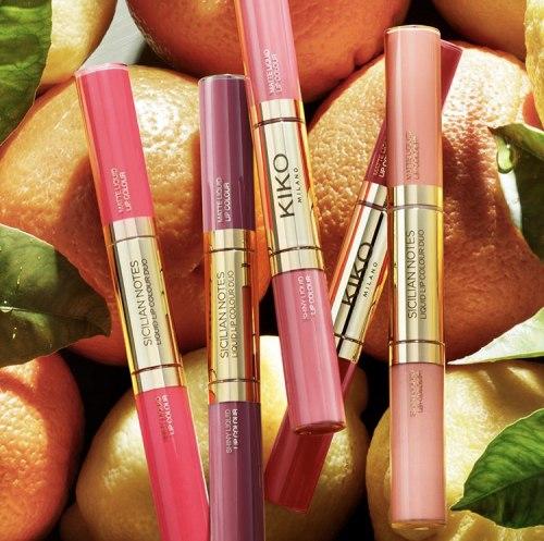 Блеск для губ KIKO MILANO Sicilian Notes Liquid Lip Colour Duo 01
