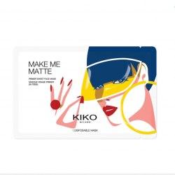 Матирующая тканевая маска-праймер для лица KIKO MILANO Make Me Matte