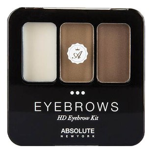 Набор для бровей ABSOLUTE HD Eyebrow Kit - Cocoa