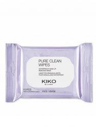 Салфетки для снятия макияжа KIKO MILANO PURE CLEAN WIPES MINI