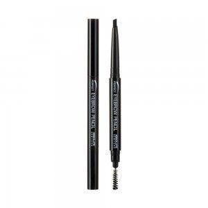 Карандаш для бровей ABSOLUTE Perfect Brow Pencil - Black
