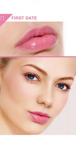 Жидкая помада для губ ABSOLUTE Glossy Stain - First Date