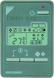 Запчасть DAIKIN 0738932 REMOTE CONTROL BRC3A61