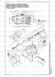 Запчасть DAIKIN 1052321 SCREW COMPRESSOR ZH3LSFTE 400V ( )0V (3)