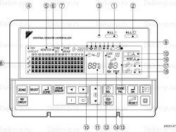 Запчасть DAIKIN 1290673 REMOTE CONTROL DCS302B61