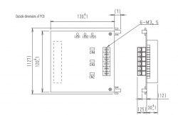 Запчасть DAIKIN 1847334 P.C.B. EC99100-3 DAM411A1 DIIIboard