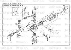 Запчасть DAIKIN 1957123 8HC552B-YE 20Hp 15,0Kw