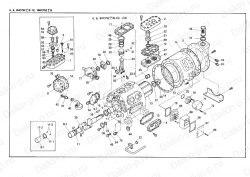 Запчасть DAIKIN 1957226 4HC552B-YE (left) 10Hp 7,5Kw