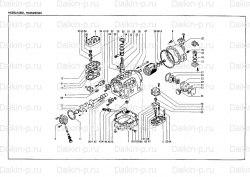 Запчасть DAIKIN 195728 4HC552SA-YE 8Hp 7,5Kw