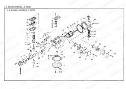 Запчасть DAIKIN 1957621 4HC554AU-YE 5Hp 3,75Kw