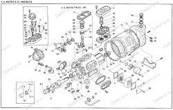 Запчасть DAIKIN 195826T 6HC752LB-TH 40Hp 30,0Kw