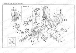 Запчасть DAIKIN 1958351 6HC752LB-FYE 40Hp 30,0Kw