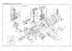 Запчасть DAIKIN 1958415 8HC752LM-5