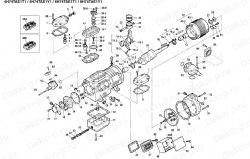 Запчасть DAIKIN 195941 4H74TAE1-Y1 30Hp 22,0Kw