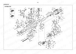 Запчасть DAIKIN 195964 6H74TAE1-T1 40Hp 30,0Kw