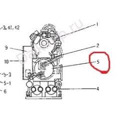 Запчасть DAIKIN 215943 EVAPORATOR DGX4024-1 UW120ED