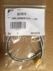 Запчасть DAIKIN 5014874 WIRE HARNESS X41A->X3A