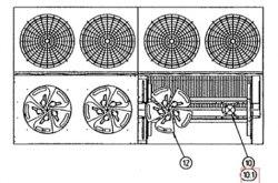 Запчасть DAIKIN 651713AP FAN MOTOR 400V - 1,2KW 6 POLE B0080.00