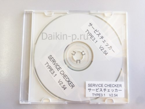 Запчасть DAIKIN 999151T SOFTWARE CHECKER TYPE III