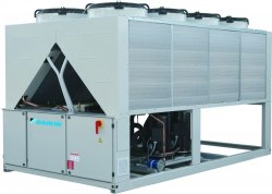 Чиллер DAIKIN EWYQ330-F-XR - 326 кВт - обогрев и охлаждение, низкий шум