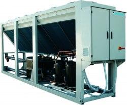 Чиллер DAIKIN EWYQ390-F-XR - 389 кВт - обогрев и охлаждение, низкий шум