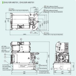 Гидравлическая система DAIKIN EHU30R-M0701