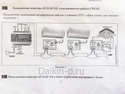 Адаптер DAIKIN AF-X