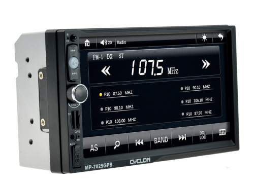 Автомагнитола CYCLON MP-7025 GPS/BT/TV 2DIN