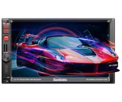 Автомагнитола Fantom FP-7090 Black/Red