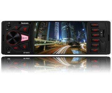 Автомагнитола Fantom FP-4070 Black/Red