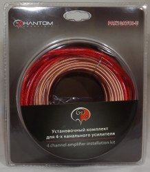 Установочный комплект для усилителя PHANTOM PAK10ATC4-U