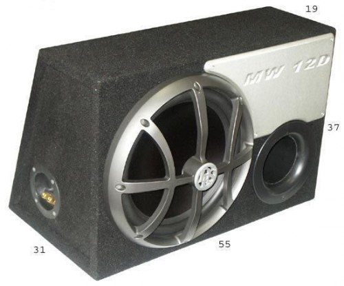 Сабвуфер DLS MW12D in vented box
