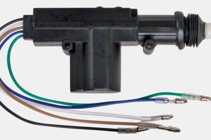 Привод центрального замка 5-ти проводный Spal 6