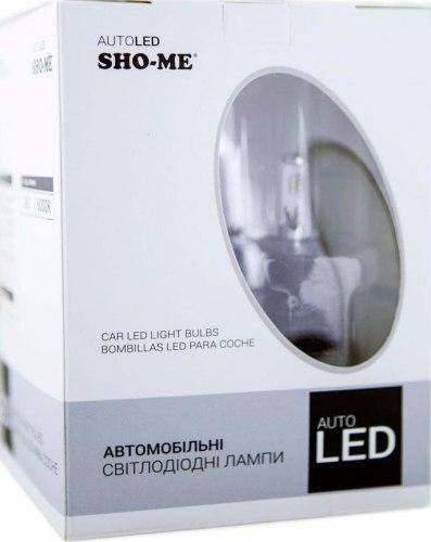 Светодиодный лампы Sho-me H7 G6.2 6000K 25W