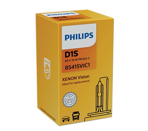Ксеноновая лампа PHILIPS Xenon D1S Vision 4600K