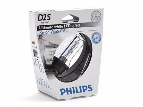 Ксеноновая лампа PHILIPS D2S 85V 35W White vision