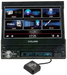Автомагнитола Cyclonе MP-7057 2DIN GPS