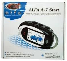 Автосигнализация Alfa A7