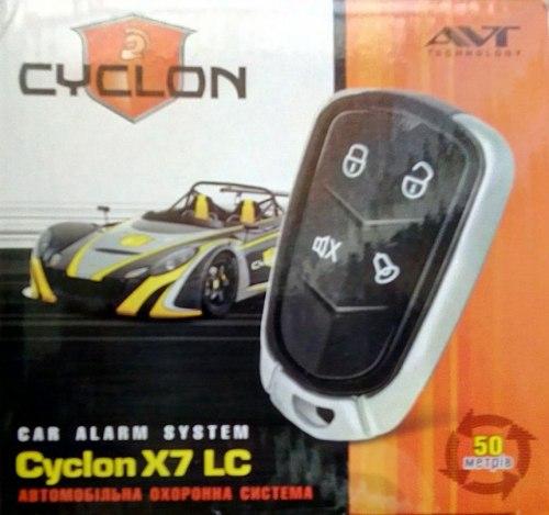 Автосигнализация CYCLON X-7 LC