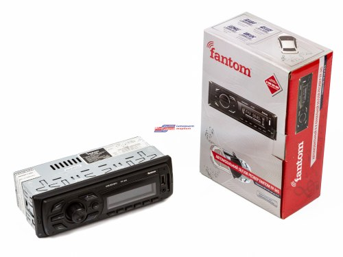 Автомагнитола FANTOM FP-345 Black/White
