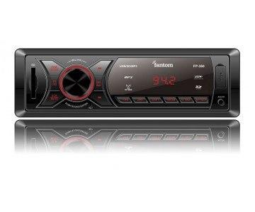 Автомагнитола FANTOM FP-360 Black/Red